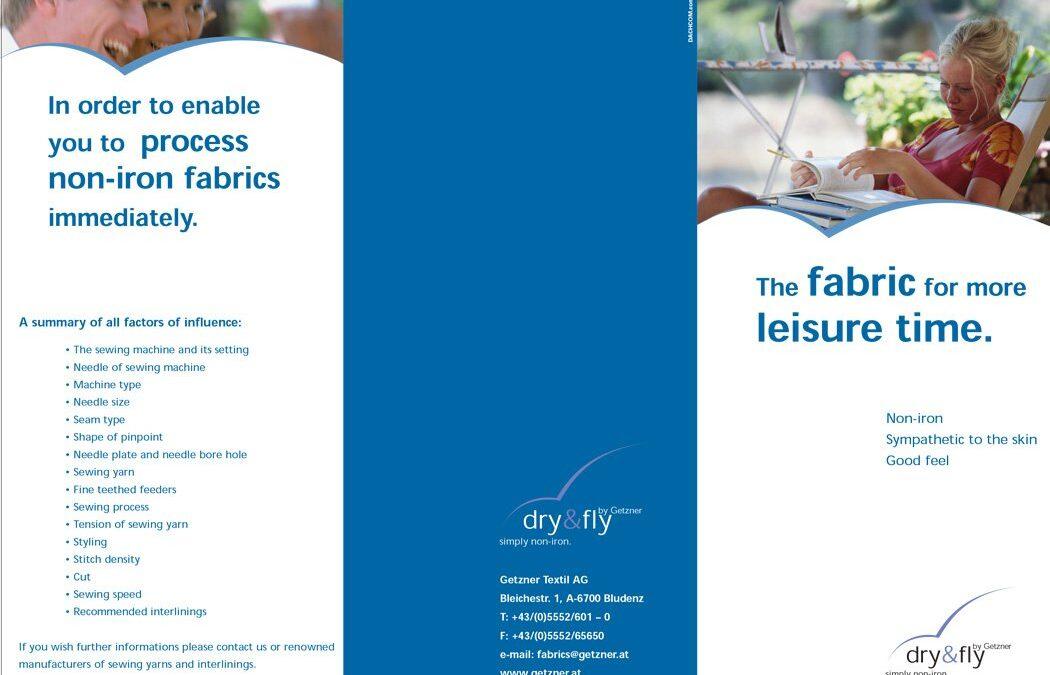 Dry & Fly materijali