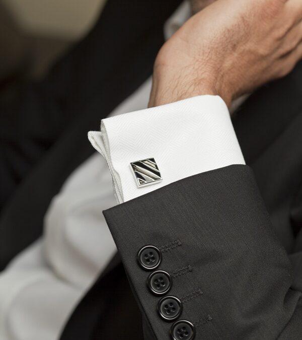 Bela košulja dupla manžetna