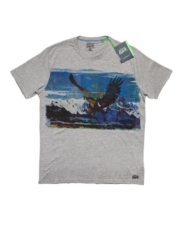 Muška majica-ATHL DPT-Siva