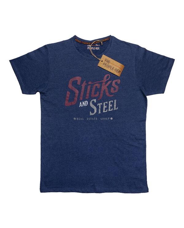 The people rep plava muška majica