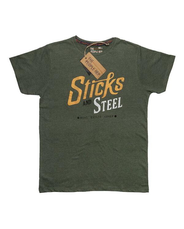 The people rep zelena muška majica